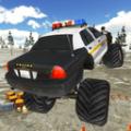 越野警车模拟驾驶